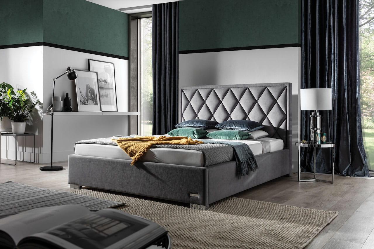 Łóżko tapicerowane Wenus